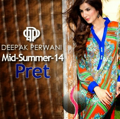 Mid-Summer  New Pret Collection Deepak Perwani