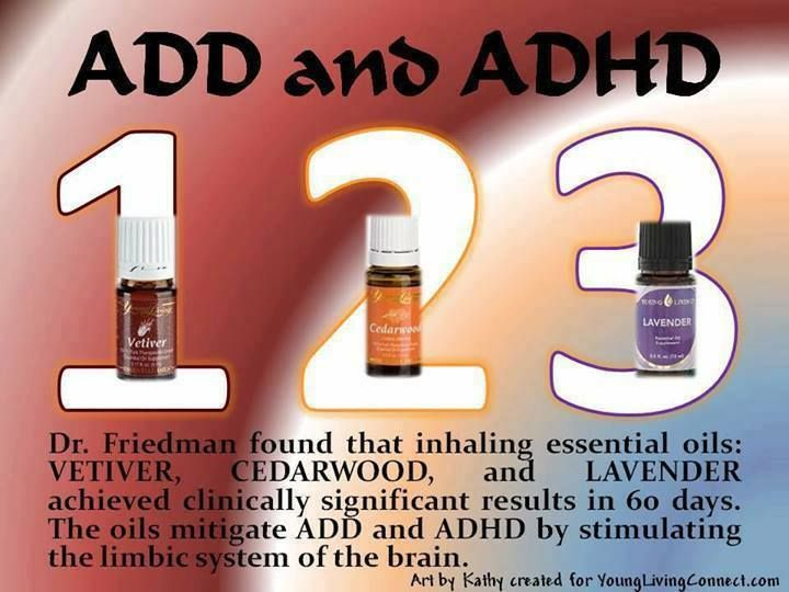 essential oils for adhd research paper
