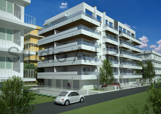 Tontialberto architetto residence a rimini edificio di 19 unit abitative - Architetto rimini ...
