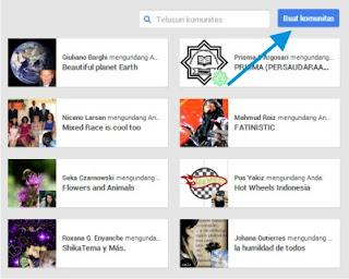 Cara Membuat Komunitas Google Plus 2