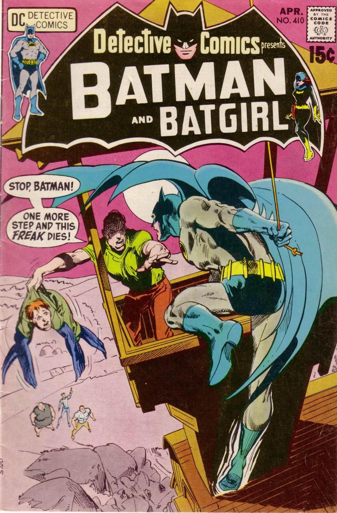 Detective Comics (1937) 410 Page 1