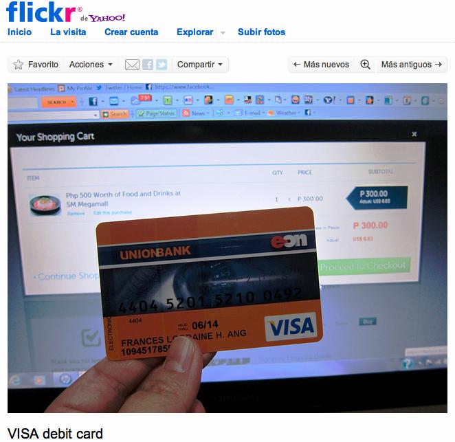 ARMAK de ODELOT: Tarjetas de crédito, PAYPAL y seguridad en redes e