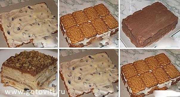 Рецепты необычных вкусных тортов с фото