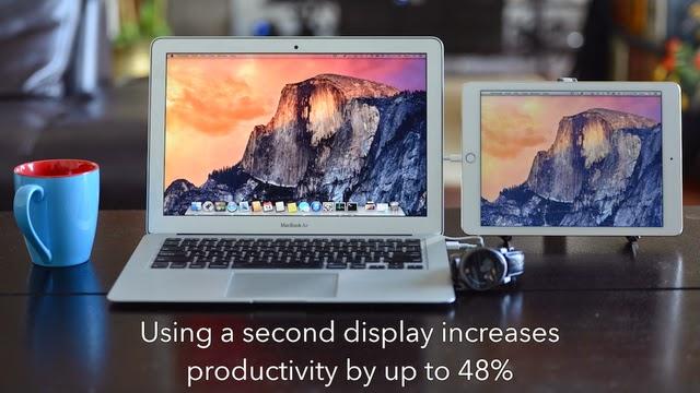 App per usare iPad o iPhone come schermo MAC