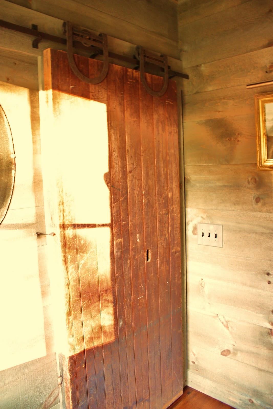 For the love of a house the barn half bath for Bath barn