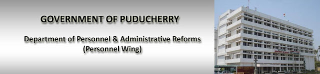 DPAR Puducherry Recruitment for 503 UDC Posts