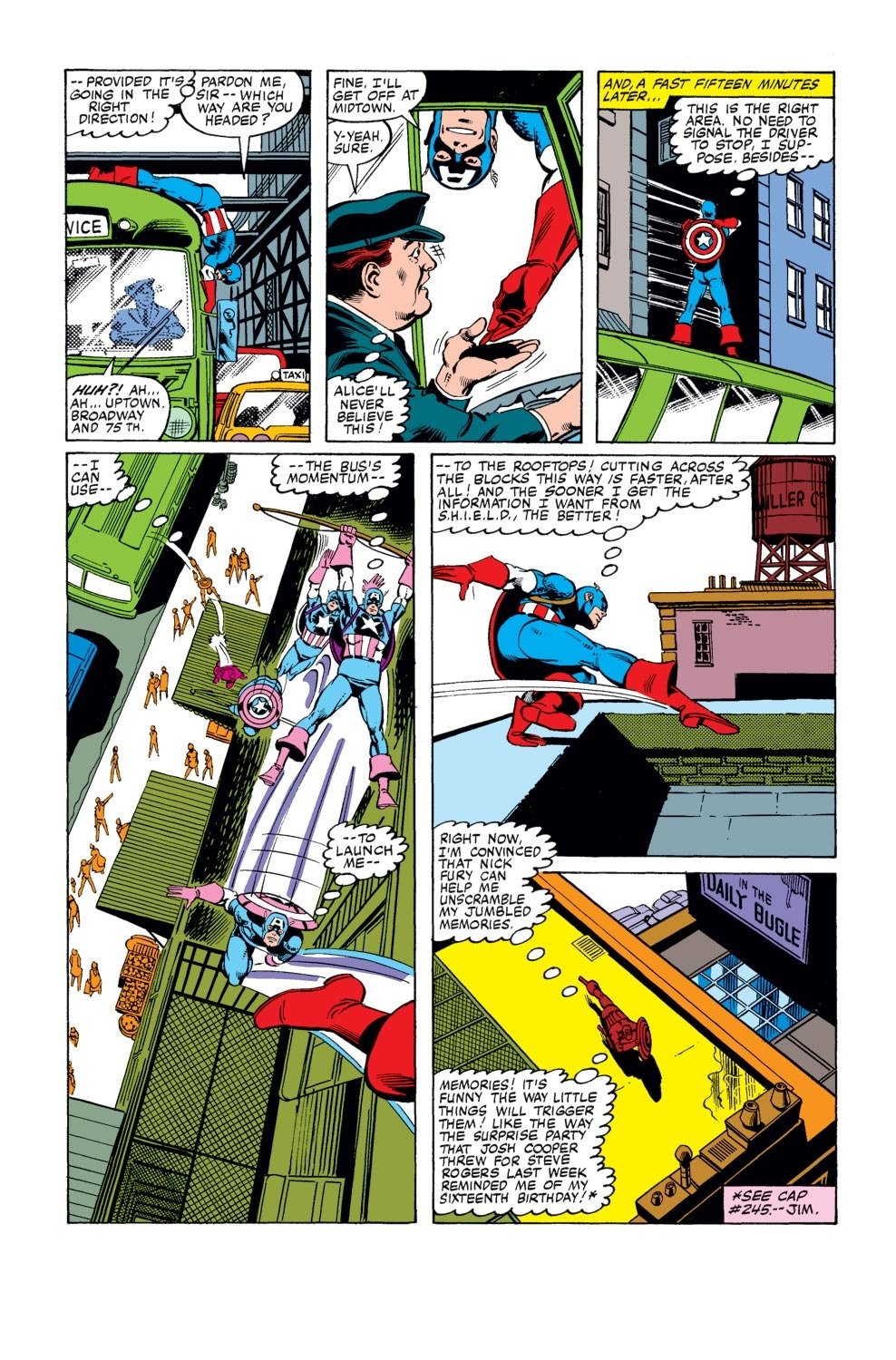 Captain America (1968) Issue #247 #162 - English 4