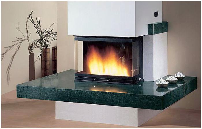 M s que artesan a chimeneas modernas for Chimeneas de forja