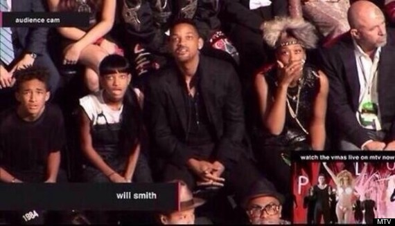 Will Smith and family at VMAs jjbjorkman.blogspot.com
