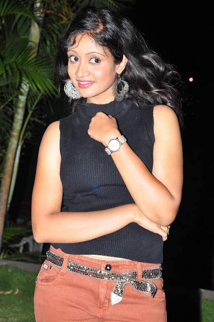 Sandeepthi Stills At Dollar Ki Maro Vaipu Movie Audio Launch