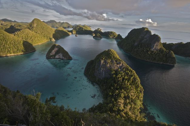 Raja Ampat Panoramic View