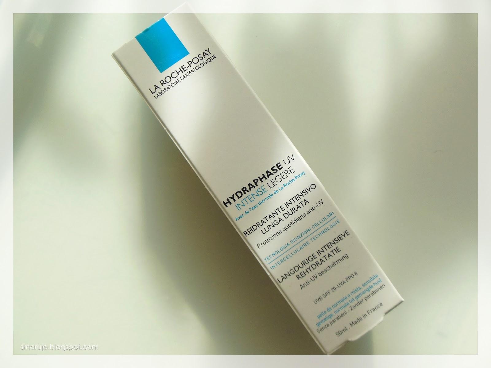 Lekki tłuścioch: La Roche-Posay –Hydraphase UV Intense Legere /recenzja/
