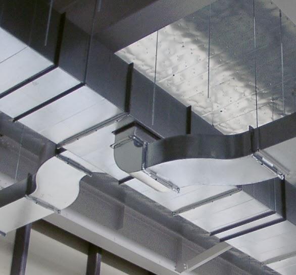 Red de conductos de aire acondicionado