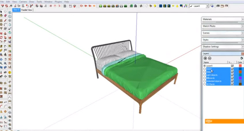 How To Export 3ds File Into The Textures Sketchup