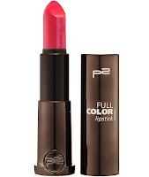 p2 Neuprodukte August 2015 - full color lipstick 140 - www.annitschkasblog.de