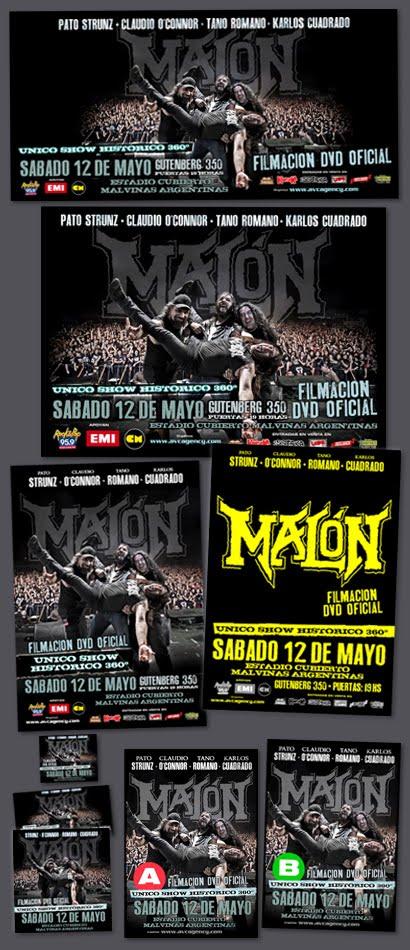 Malón / Show Grabación DVD