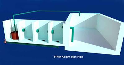 membuat sendiri filter kolam ikan hias   desain rumah