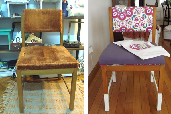 Cuchita bacana talleres de reciclado de muebles y - Reciclar muebles usados ...