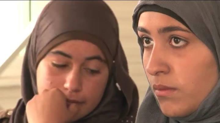 JORDAN   Gadis Syria menjadi pelarian disana.