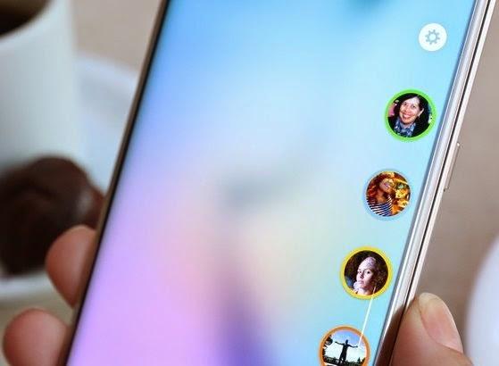 A resolução da tela do Galaxy S6 Edge impressiona
