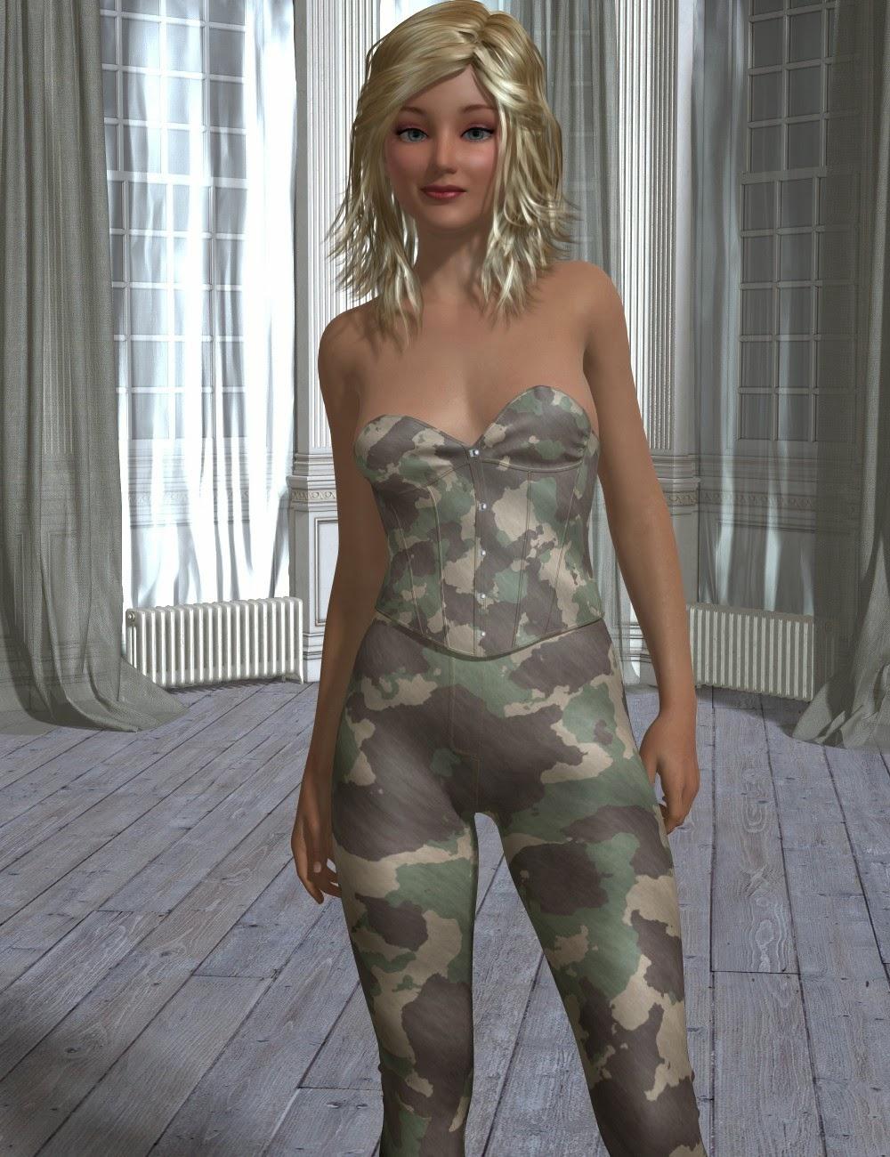 3d Models - Hypnotic for Genesis 2 Female(s)