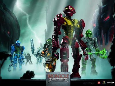 Download Bionicle Heroes PC Game [204 MB]