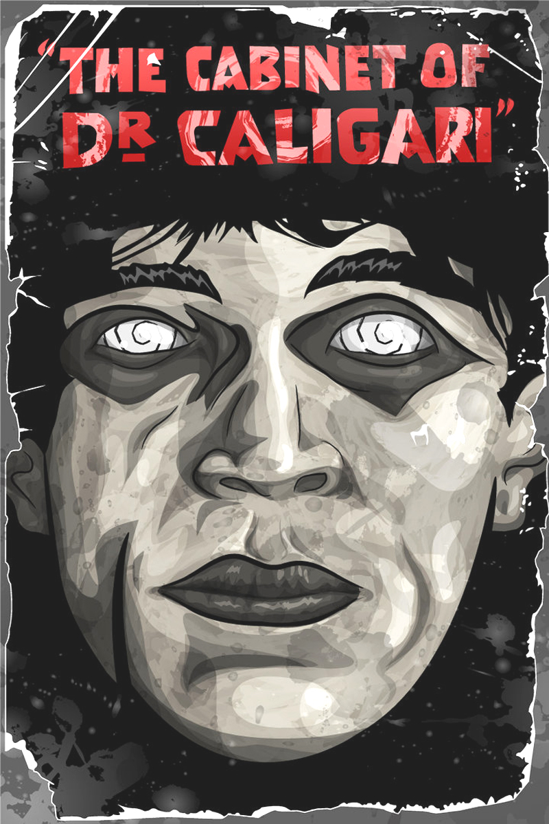 MOVIE POSTERS: DAS CABINET DES DR. CALIGARI (1920)