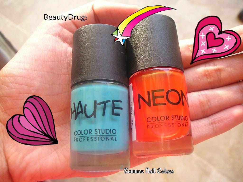 Beauty Drugs: Summer Nail Luv - Color Studio Professional