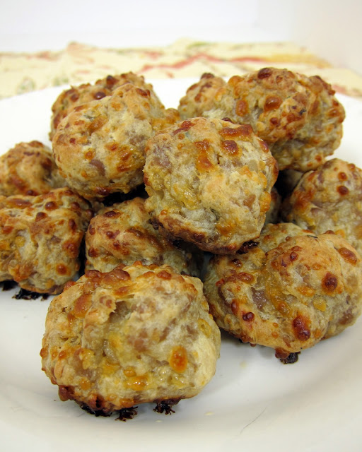Boursin Cream Cheese Sausage Balls