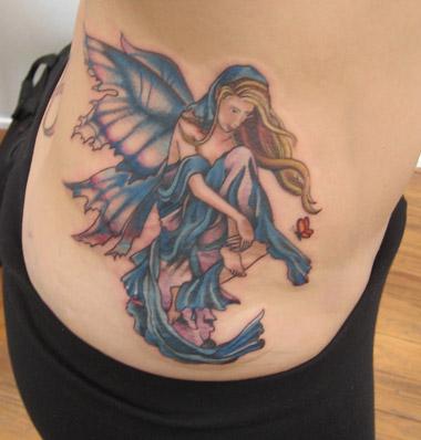 New Fairy Tattoo Designs 18