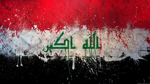graafix flag of iraq