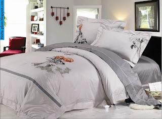 صور مفارش سرير مطرزة