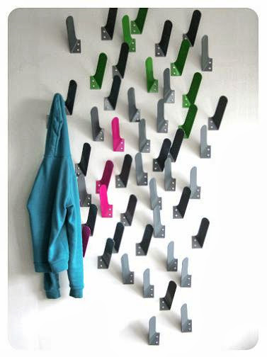 Interesting Wall Hooks and Stylish Coat Racks (15) 8