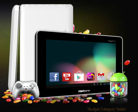 WORLD LOWEST COST JELLY BEAN TABLET KARBONN SMART TAB1 | TAMILAN