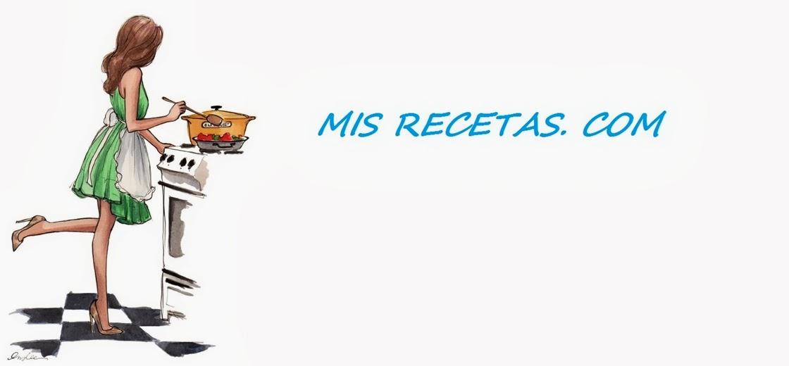 MIS RECETAS. COM