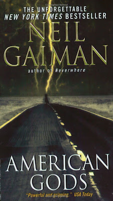 Book - American Gods (an award winning book by Neil Gaiman) - Published in 2001