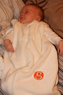 Gunapod wearable baby blanket / sleeping bag