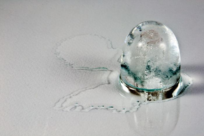 ice cube meltin