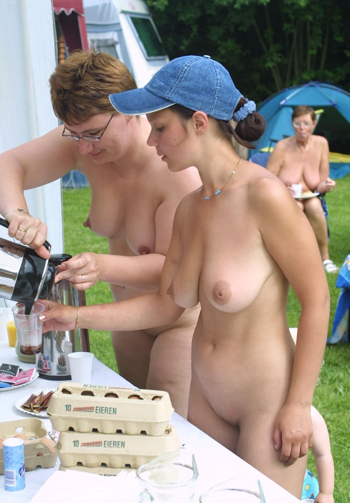 Candid Bikini Nipple
