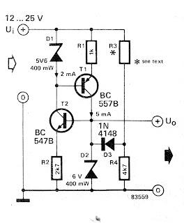 adjustable zener diode circuit schematic wire data schema u2022 rh mobilcasino pw Zener Diode Symbol Rekay Schematic