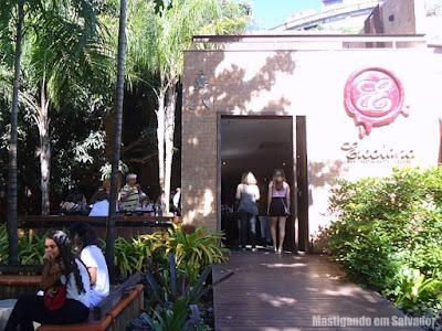 Erconalo Restaurante: Fachada da unidade da Bahia Marina