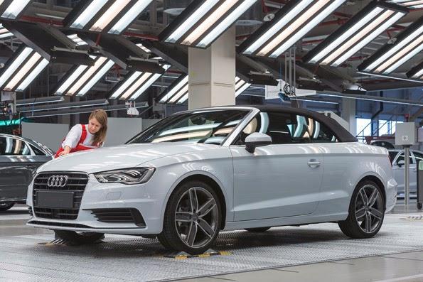Audi A3 Cabriolet Produktion angelaufen