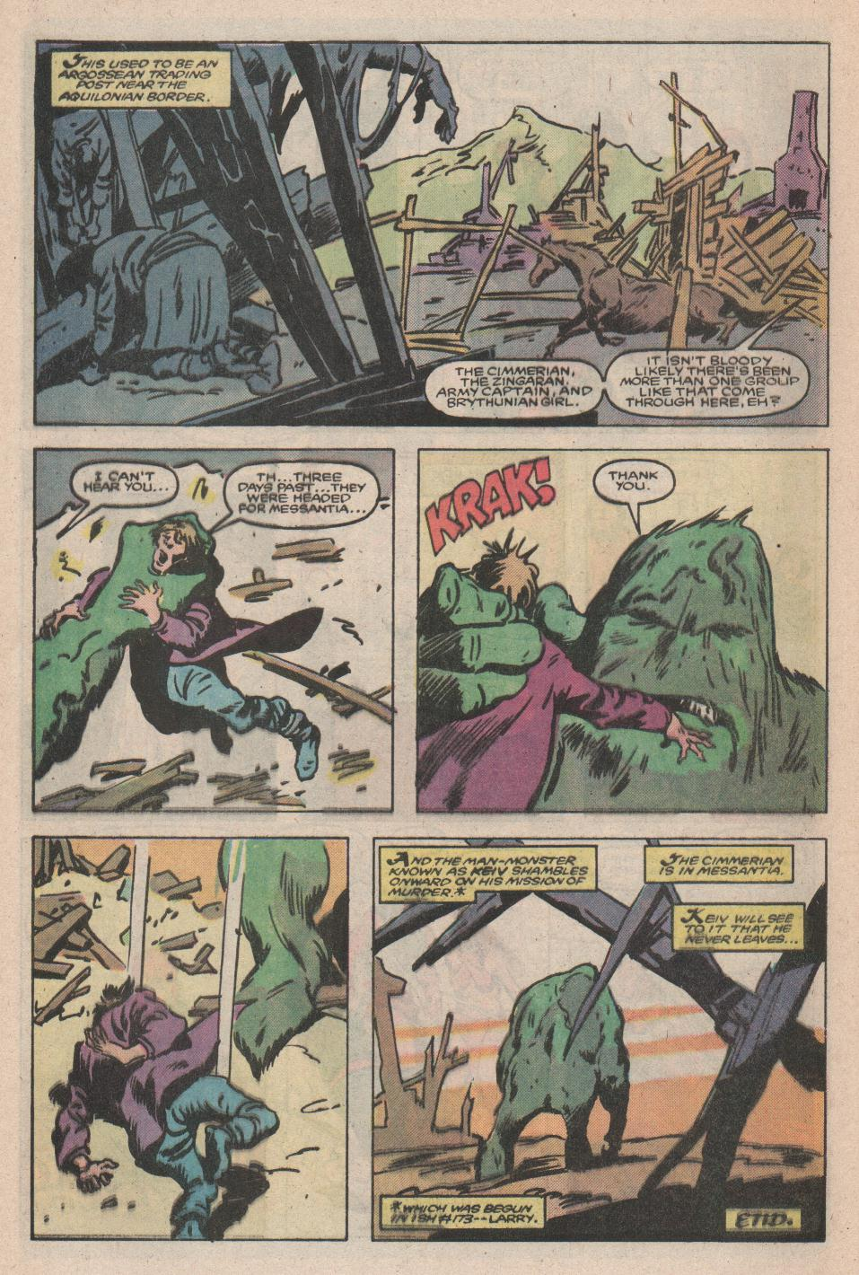 Conan the Barbarian (1970) Issue #176 #188 - English 23
