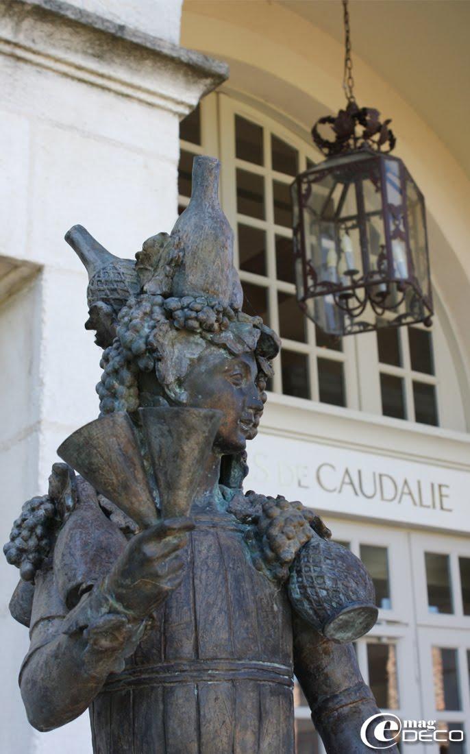 Détail de La Bastide des Grands Crus, Les Sources de Caudalie, établissement hôtelier près de Bordeaux