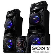 OBS: O mini system Sony FSTSH2000 ''SHAKE'' tem 1500W RMS (Na versão do .