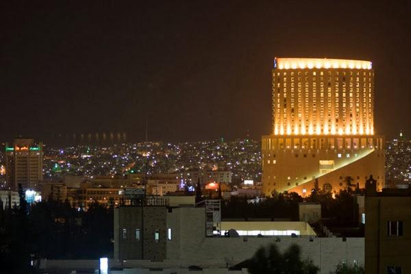 Amman at night (Jordan)