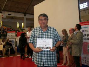 DISTINGUIDO POR MINISTERIO DE EDUCACIÓN Y CONFEDERACION DE DEPORTES