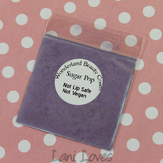Wonderland Beauty Cosmetics Sugar Pop Eyeshadow Swatches & Review