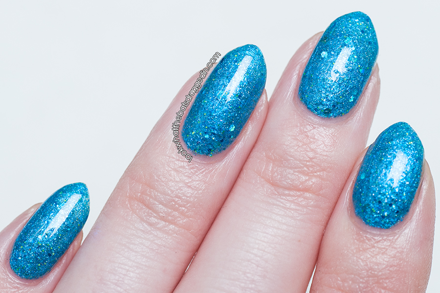 Mckfresh Nail Attire Planeteers polish collection Water