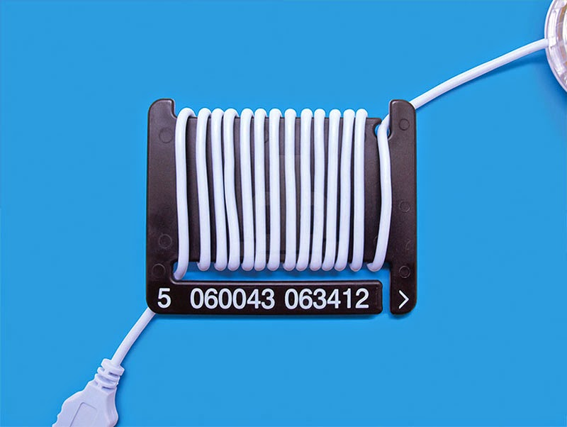 Barcode Cable Tidies organiza tus cables